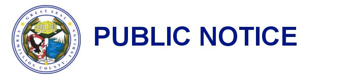Seal Public Notice